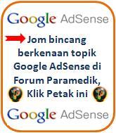 Ruangan Khas - Perbincangan Google AdSense