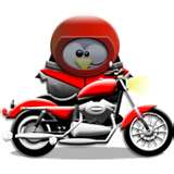 le motard !