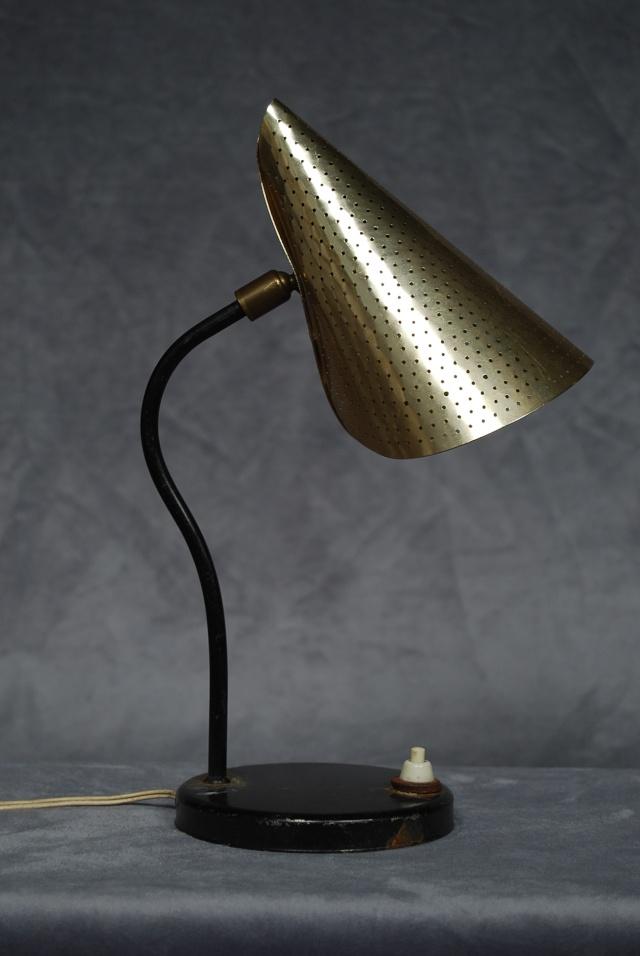 Lampe de bureau ann e 50 60 for Lampe de bureau annee 50