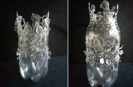 ideias para reciclar garrafas