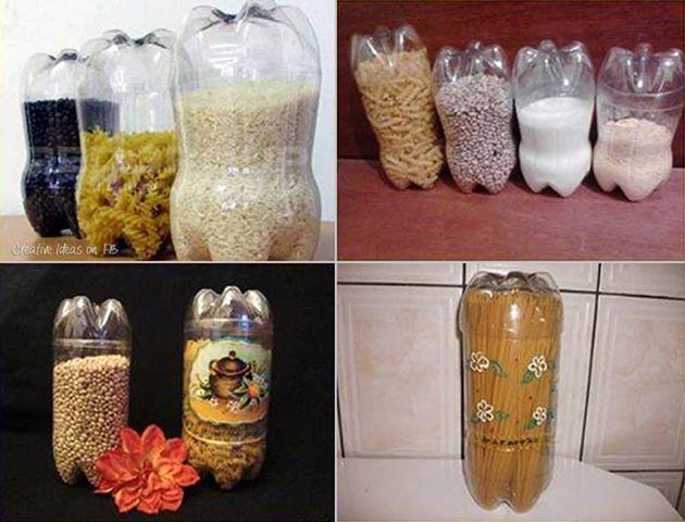 ideia receiclar garrafas