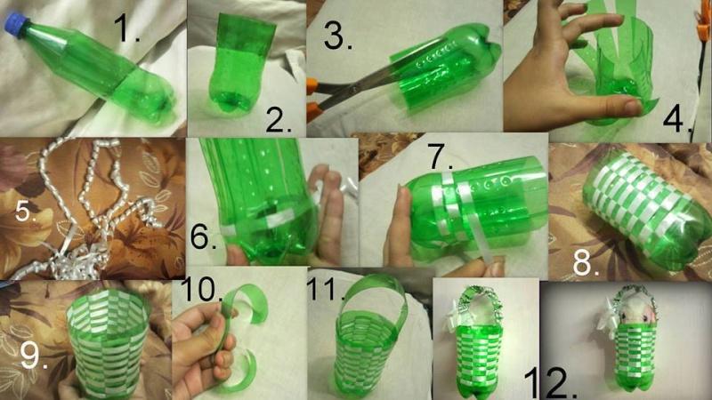 manualidades com garrafas