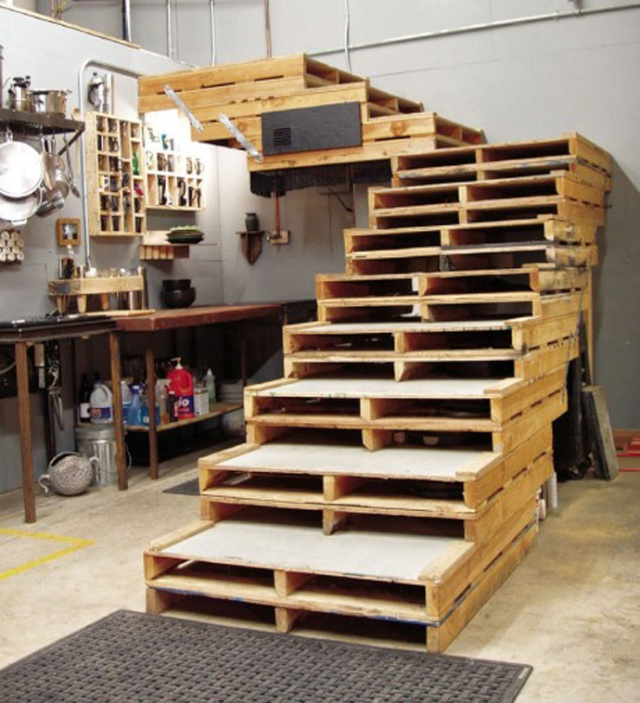 como reciclar paletes de madeira