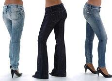 Calças para mulheres altas