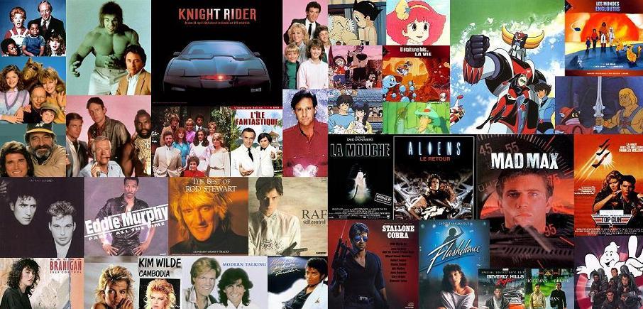 Top années 80's