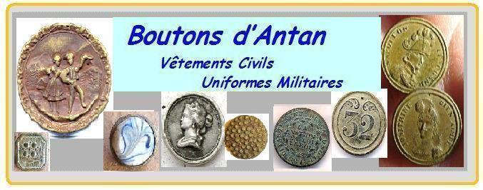 LA BOITE A BOUTONS - Boutons Civils et Boutons Militaires