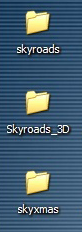 Skyroads folder