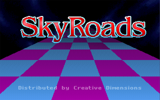 Skyroads ecran titre