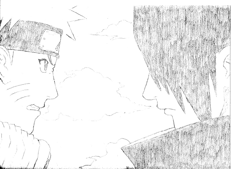 Gallerie de adrien san - Comment dessiner sasuke ...