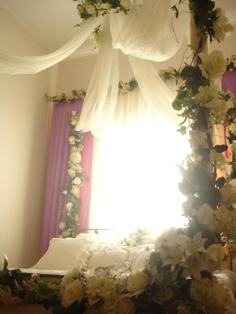 contoh hiasan bilik pengantin
