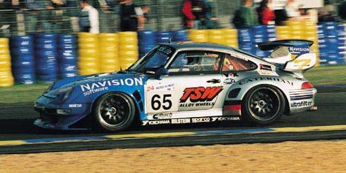 tamiya 1 24 porsche 911 gt2 993 roock racing lm 1998. Black Bedroom Furniture Sets. Home Design Ideas