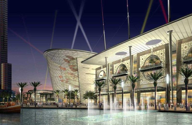 Architools 3d duabi mall grand centre commercial aux for Centre commercial grand tour