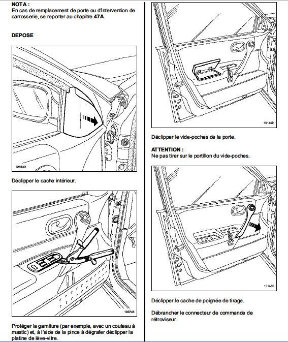 Fabrication d 39 un support de mano pression turbo ou autres - Demontage panneau de porte megane 2 ...