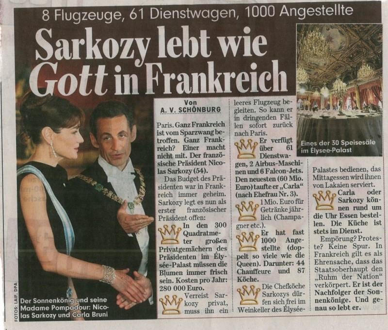 Article du Bild Zeitung