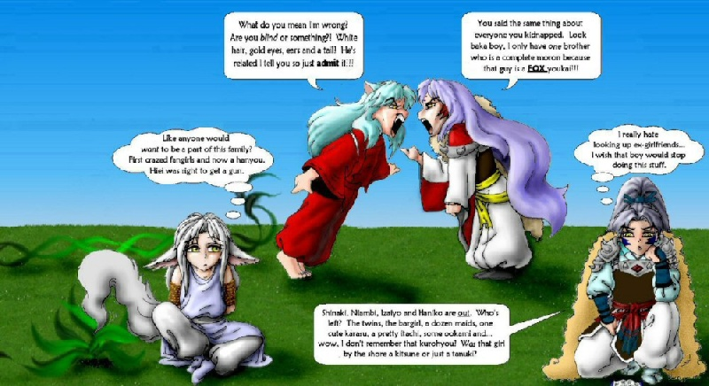 Go Back  gt  Gallery For  gt  Inuyasha Family TreeInuyashas Family With Kagome