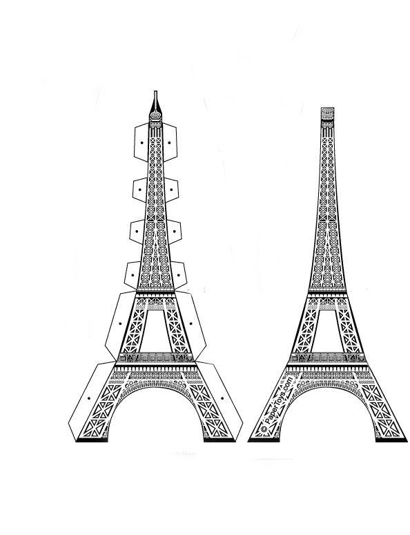 Coloriage A Imprimer Tour Eiffel.Coloriage De La Tour Eiffel A Imprimer Colorier Les