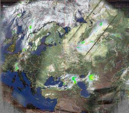 виситед: еосмос в реальном времени