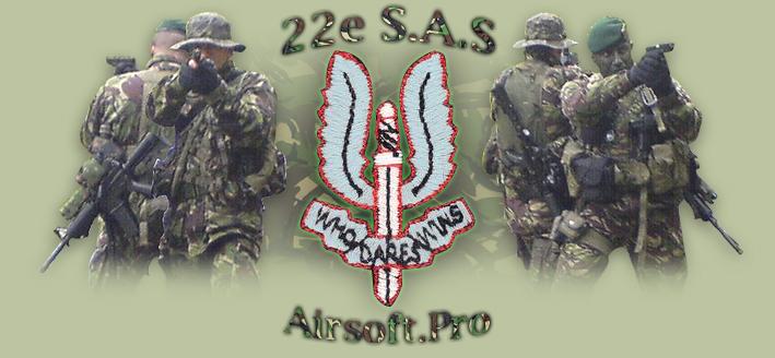 22nd Regiment SAS Unité de Simulation Militaire de Roleplay dédié aux Forces British Army