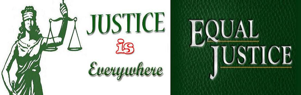 WE ARE JUSTICE...