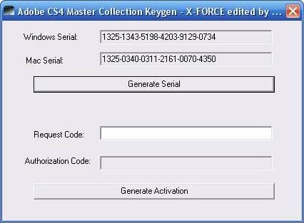 adobe 4 master collection keygen