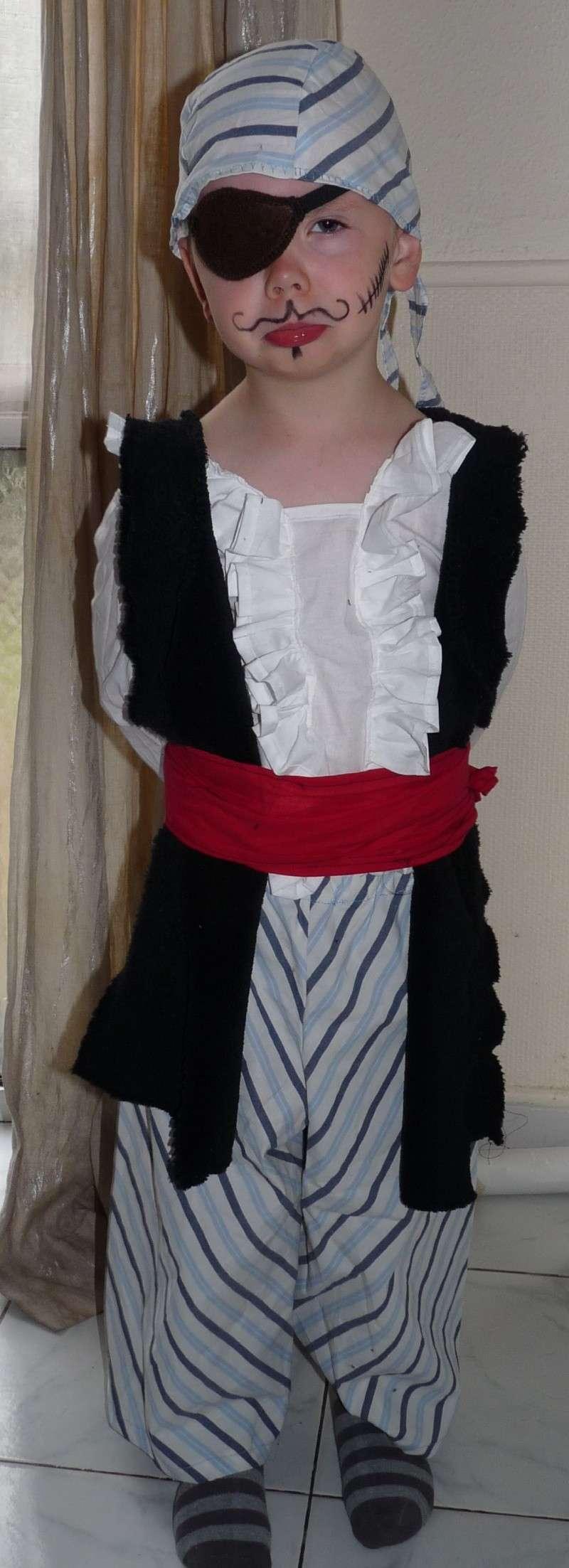 Déguisement de carnaval dans Couture pirate11