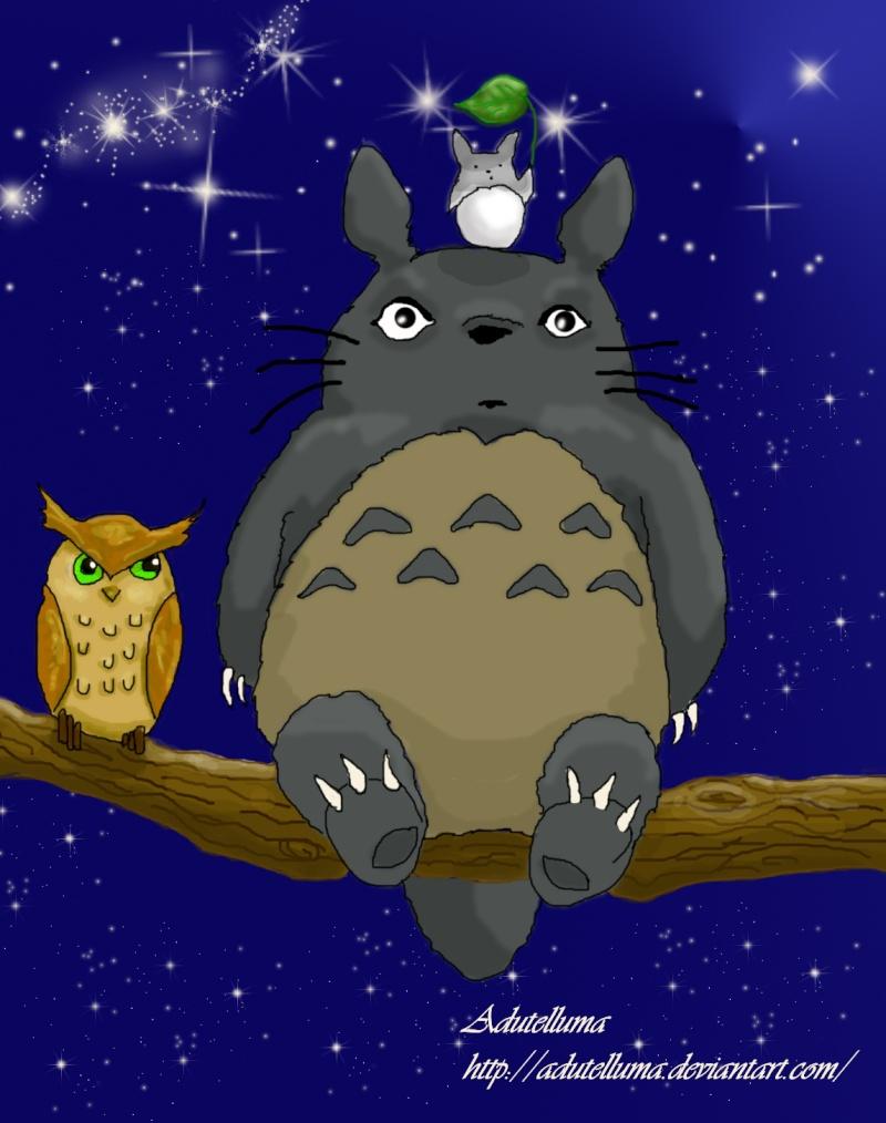 Totoro dans Compositions d'images totoro10