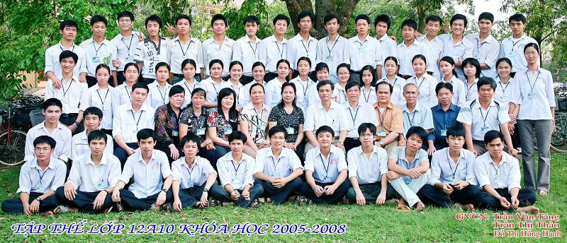 Lớp 12A10_Trường THPT Lê Lợi - Thọ Xuân