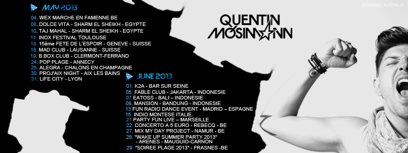 QUENTIN MOSIMANN - SON FORUM OFFICIEL
