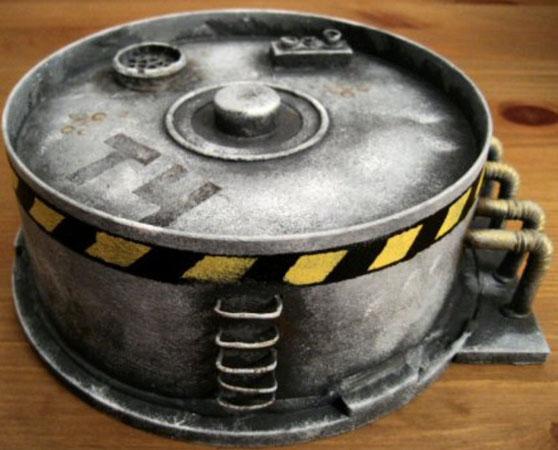 D cors d pot de carburant tutoriels warhammer forum for Decor 40k