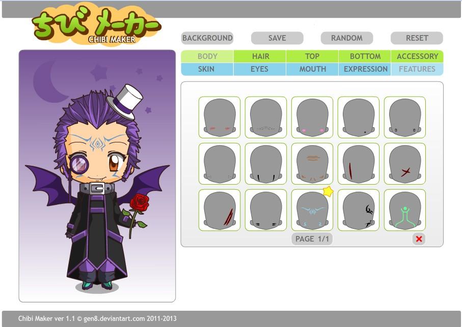 Chibi Maker 1.1 - Tự tạo nhân vật Anime cho mình