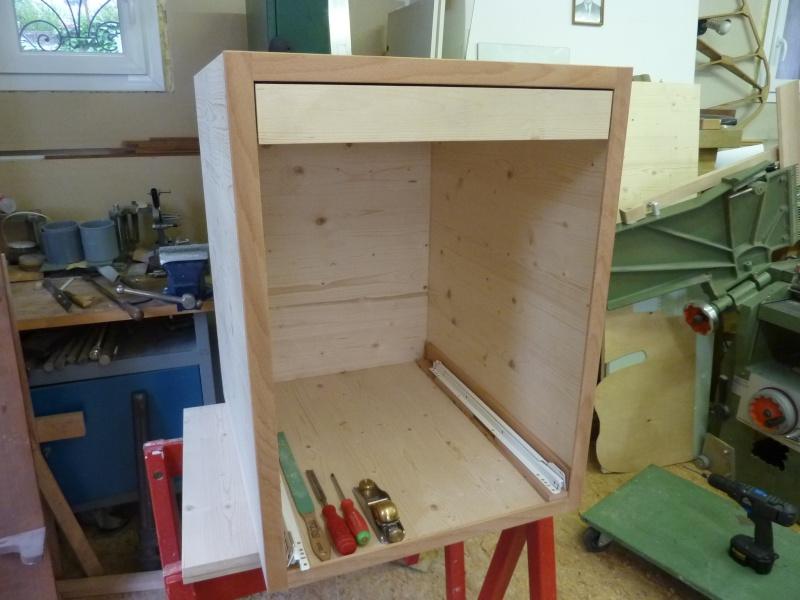 armoires et tabli pour tour schaublin 102. Black Bedroom Furniture Sets. Home Design Ideas