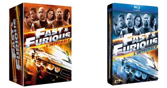 actu dvd blu ray coffrets dvd et blu ray de l 39 int grale fast furious le 07 mai cin m dia. Black Bedroom Furniture Sets. Home Design Ideas