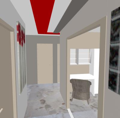 choix de couleurs pi ce vivre entr e couloir besoin de conseils nouveau photos avant apr s. Black Bedroom Furniture Sets. Home Design Ideas