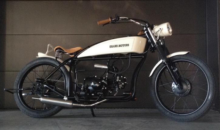 Chopper moped 13
