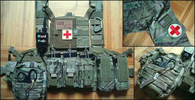 Equipement medic airsoft