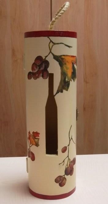 Porte bouteille ou cache bouteille de vin ou autre - Diametre bouteille de vin ...
