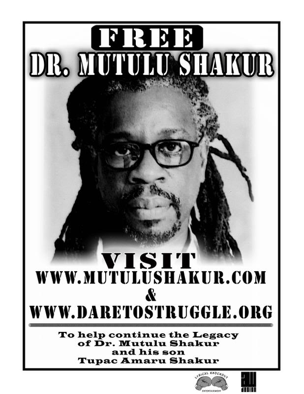 Dr  Mutulu Shakur  Prisonnier Politique aux USAMutulu Shakur