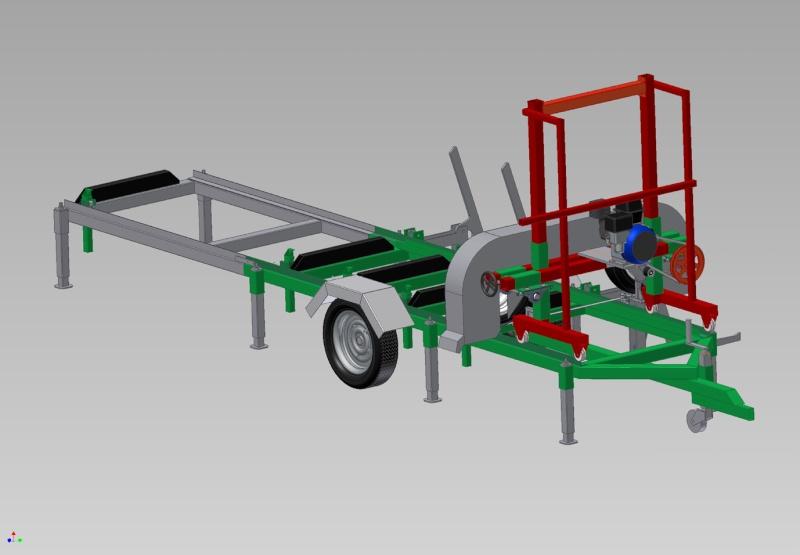 R alisation scierie mobile - Fabriquer rallonge electrique ...