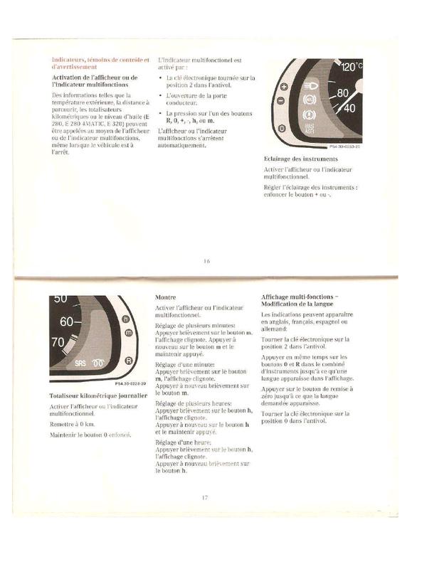 tuto remise a z ro compteur maintenance w220. Black Bedroom Furniture Sets. Home Design Ideas