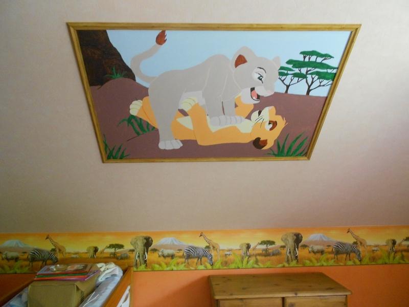 la chambre roi lion de ma fille son gateau de bapteme la belle au bois dormant page 2. Black Bedroom Furniture Sets. Home Design Ideas