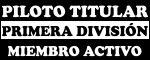 Piloto Titular 1raDiv