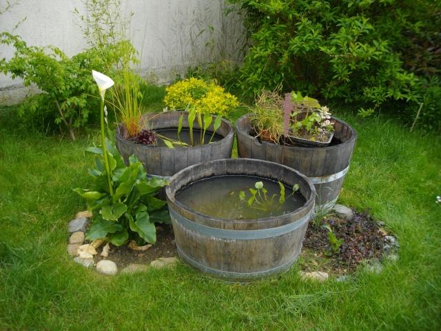 recifal-france • 3 demi tonneaux... : vos bacs et vos bassins
